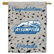 Assumption College Greyhounds Graduation Banner