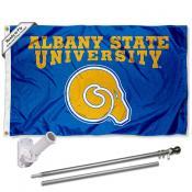 ASU Golden Rams Flag and Bracket Flagpole Kit