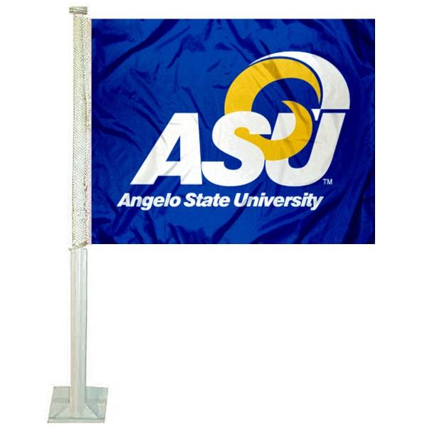 ASU Rams Car Flag