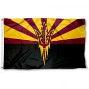 ASU Sun Devils Arizona State Design Flag