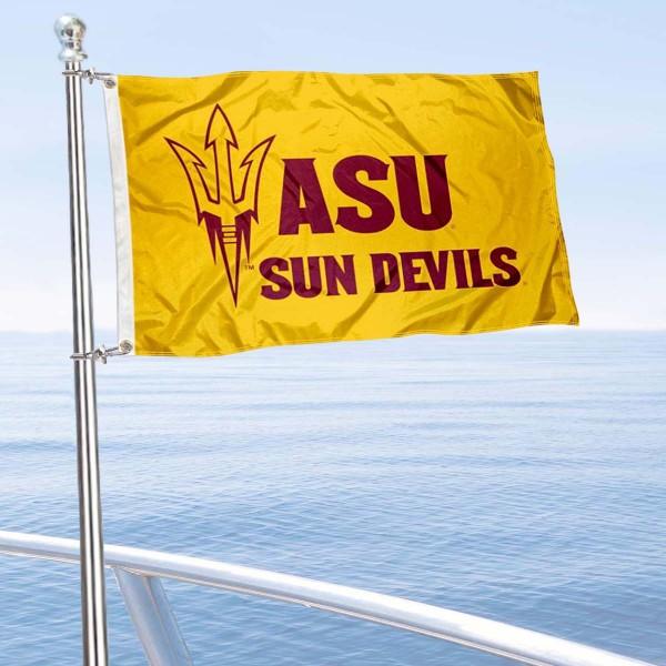 ASU Sun Devils Boat Nautical Flag