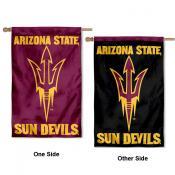 ASU Sun Devils Dual Logo House Flag