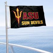 ASU Sun Devils Logo Nautical and Golf Cart Flag