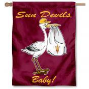 ASU Sun Devils New Baby Banner