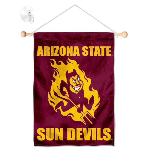 ASU Sun Devils Small Wall and Window Banner