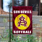 ASU Sun Devils Softball Garden Flag