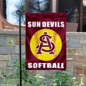 ASU Sun Devils Softball Garden Flag