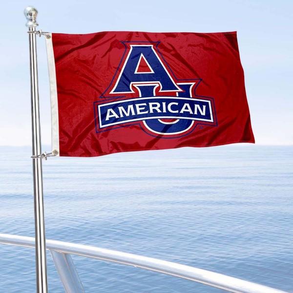 AU Eagles Boat Nautical Flag