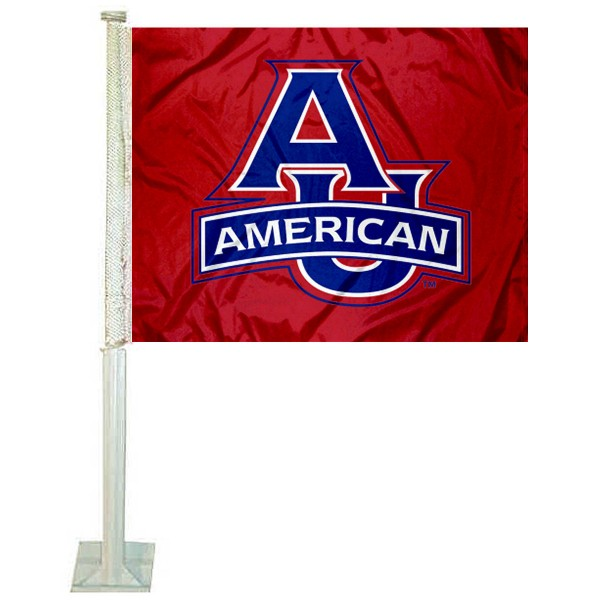 AU Eagles Car Flag