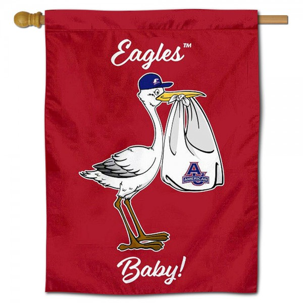 AU Eagles New Baby Banner