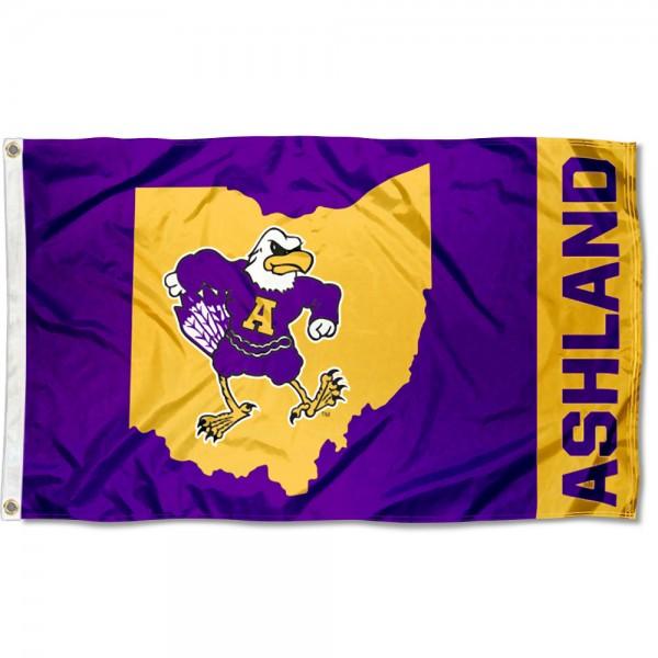 AU Eagles Ohio 3x5 Foot Flag