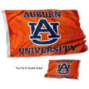 AU Tigers Orange Stadium Flag