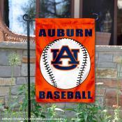 Auburn Baseball Garden Flag