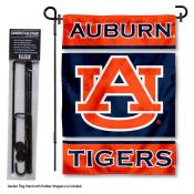 Auburn Garden Flag and Holder
