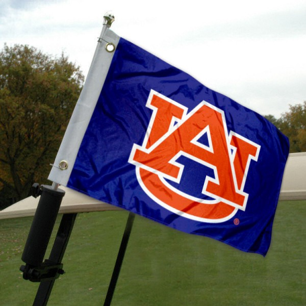Auburn Golf Cart Flag