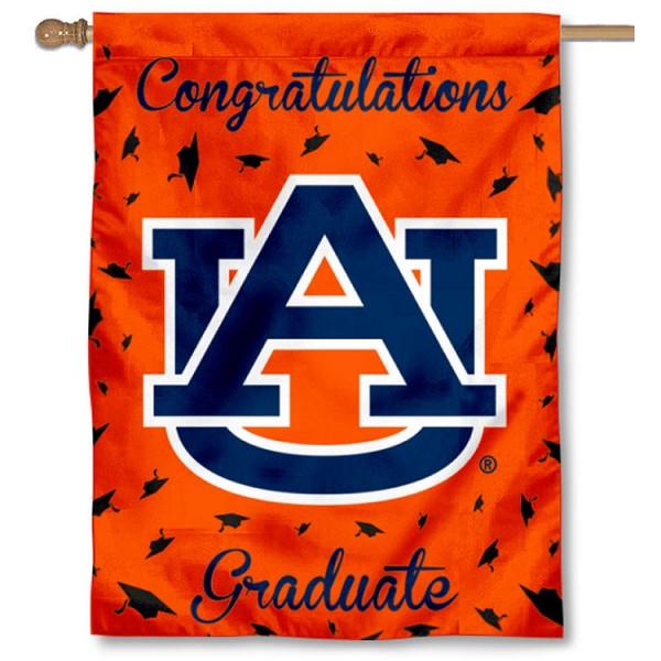 Auburn Graduation Banner