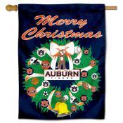 Auburn Holiday Flag