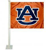 Auburn Orange Car Flag