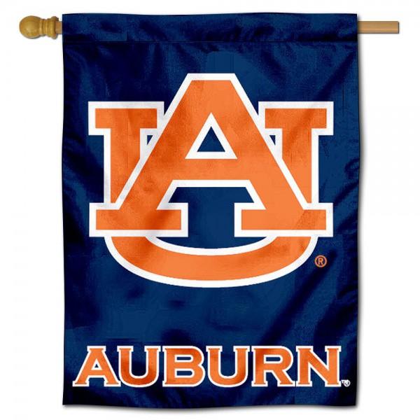 Auburn Polyester House Flag