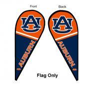 Auburn Teardrop Flag