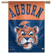 Auburn Throwback Vintage House Flag