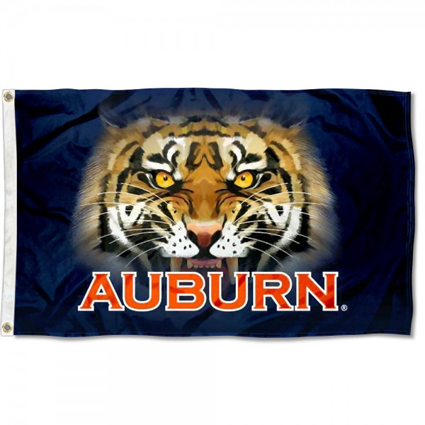 Auburn Tigers Eyes Flag