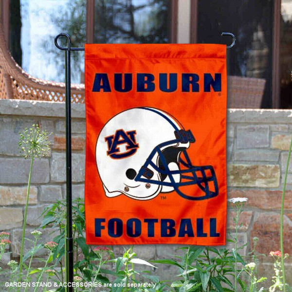 Auburn Tigers Football Garden Flag