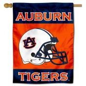 Auburn Tigers Football Helmet House Flag