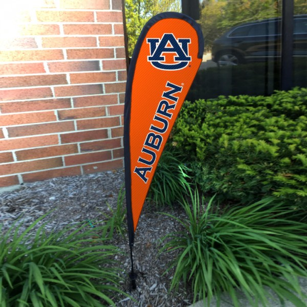 Auburn Tigers Mini Teardrop Garden Flag