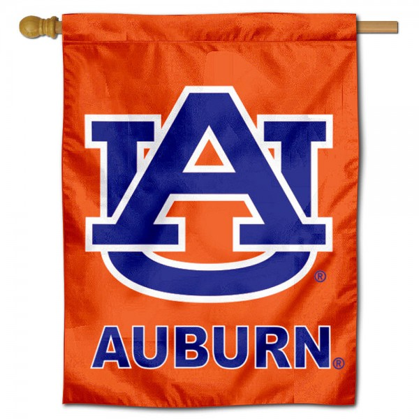 Auburn Tigers Orange House Flag