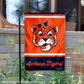 Auburn Tigers Retro Throwback Garden Banner