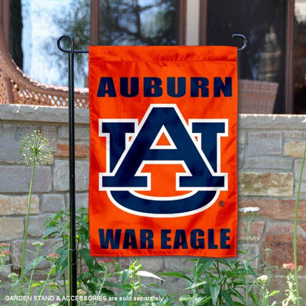 Auburn Tigers War Eagle Garden Flag