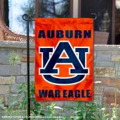 Auburn Tigers War Eagle Garden Flag