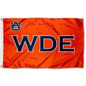 Auburn Tigers WDE Logo Flag