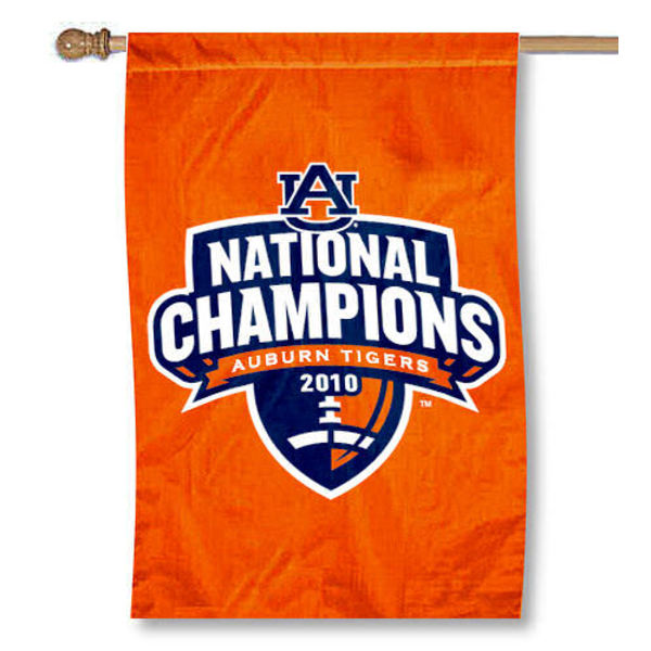Auburn University Champs House Flag