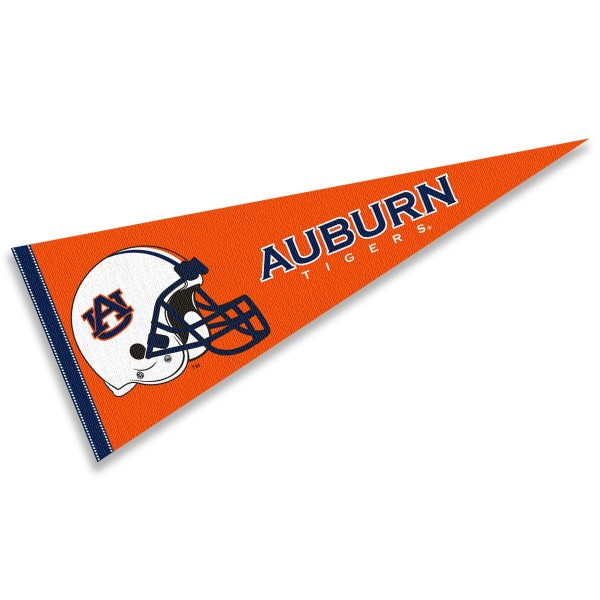 Auburn University Football Helmet Pennant