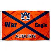Auburn University State of AL Logo Flag