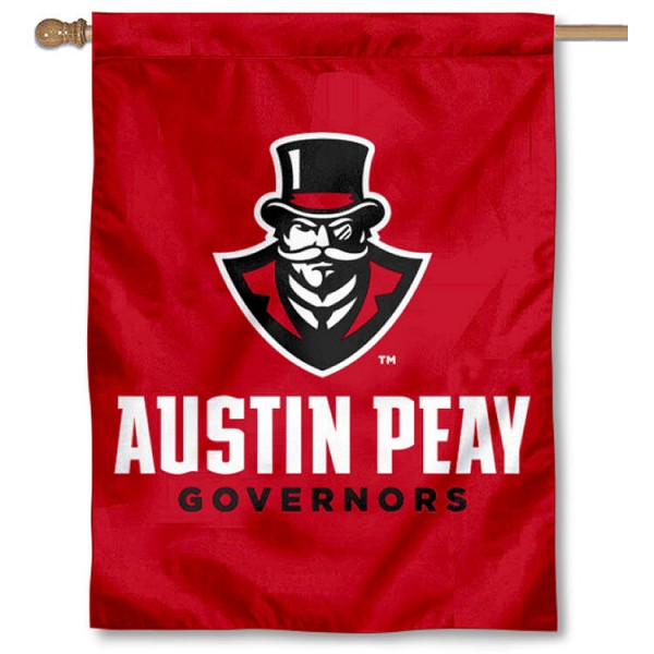 Austin Peay Governors Wordmark House Flag