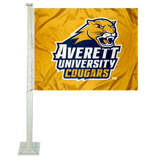 Averett Cougars Car Flag