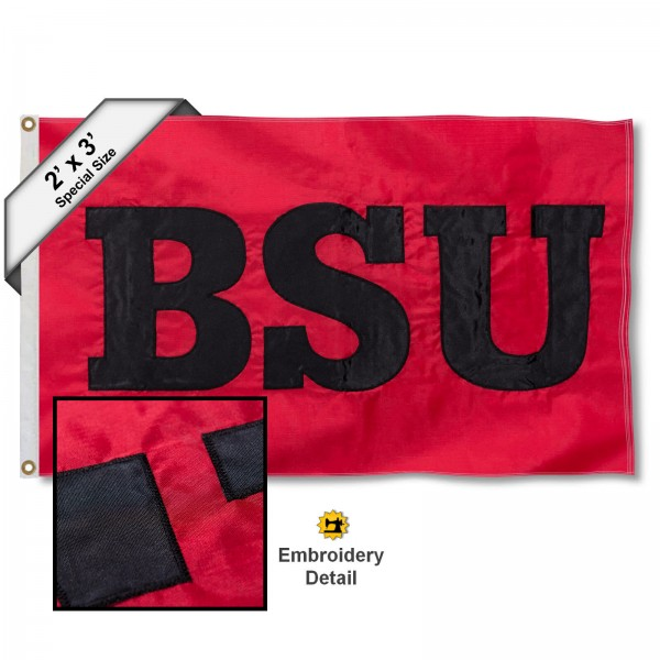 Ball State Cardinals 2x3 Flag