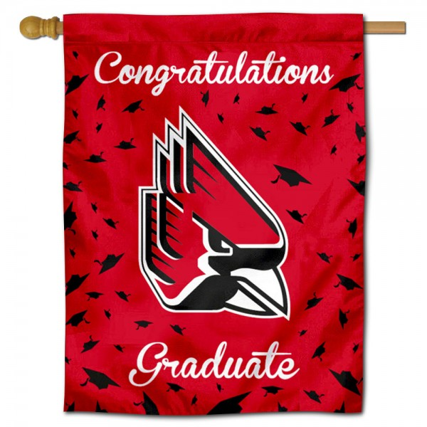 Ball State Cardinals Graduation Banner