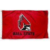 Ball State Cardinals New Logo Flag