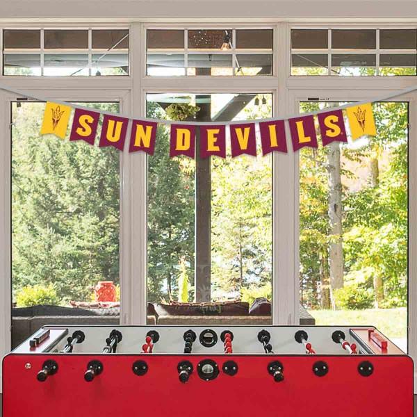 Banner Pennant Flag String for Arizona State University Sun Devils
