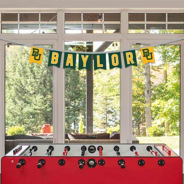 Banner Pennant Flag String for Baylor University Bears