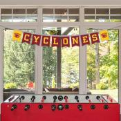 Banner Pennant Flag String for Iowa State University Cyclones