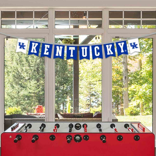 Banner Pennant Flag String for Kentucky Wildcats