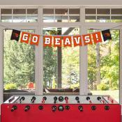 Banner Pennant Flag String for Oregon State University Beavers
