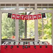 Banner Pennant Flag String for Rutgers University Scarlet Knights