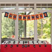 Banner Pennant Flag String for Syracuse University Orange