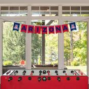 Banner Pennant Flag String for University of Arizona Wildcats